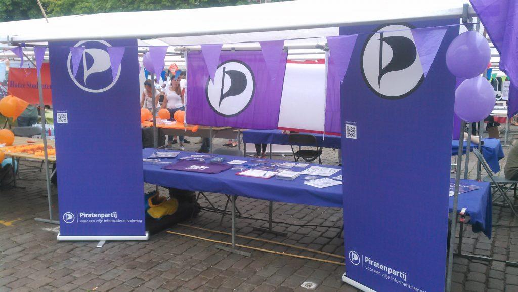 Piratenpartij Groningen stand